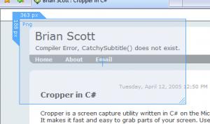 Esempio di utilizzo di Cropper 1.9.1
