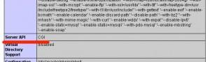 Configurazione Php come CGI