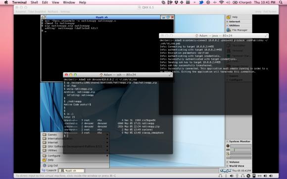 QNX Desktop Playbook