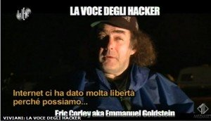 Erico Corley - La voce degli hacker