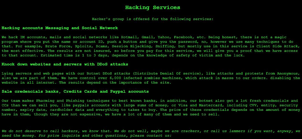 Hack Service