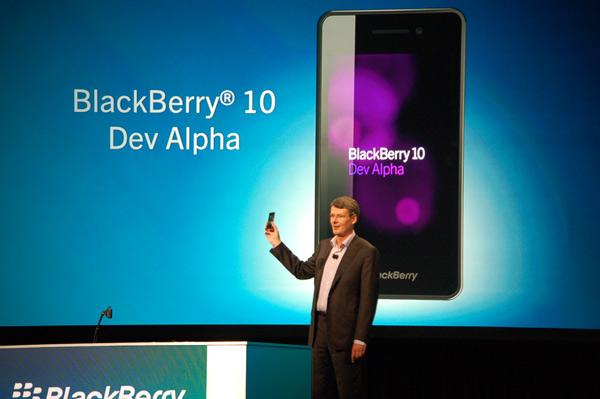 BlackBerry 10 Dev Alpha