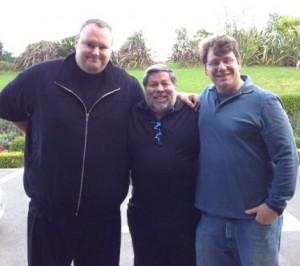 Kim Dotcom Steve Wozniak Ira Rothken
