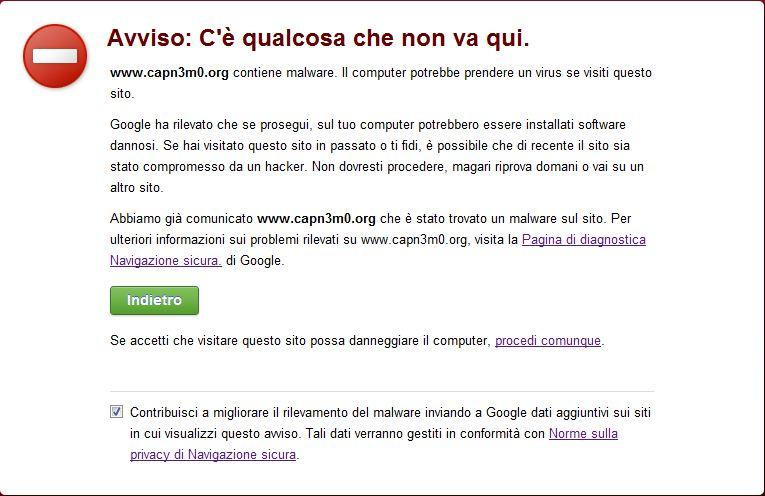 Malware capn3m0.org