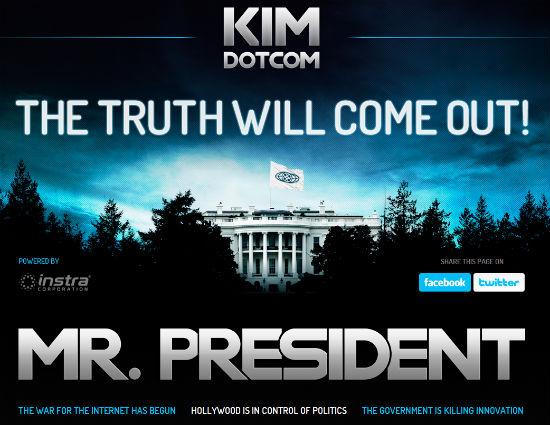 Dotcom apre il portale Kim.com