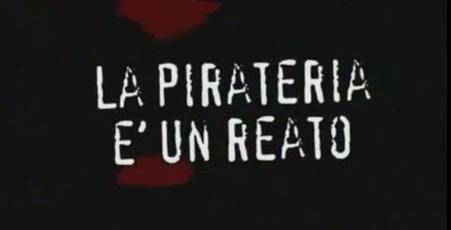 Spot anti-pirateria: colonna sonora illegale