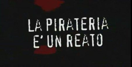 Spot anti-pirateria: colonna sonora illegale
