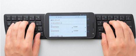 Tastiera senza fili per smartphone