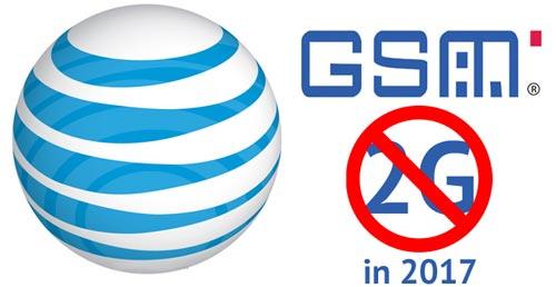 La rete 2G in pensione dal 2017