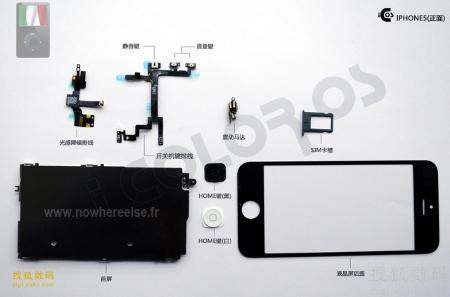 iPhone 5: le prime immagini delle componenti