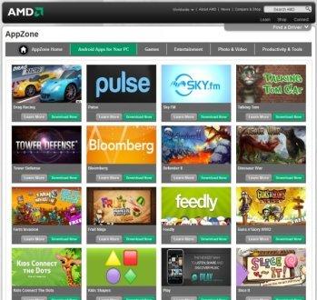 AMD AppZone: usare app Android su Windows