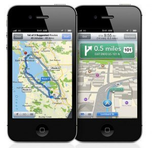 Apple si scusa, consiglia di usare Google Maps