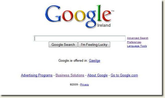 Attacco a Google.ie e Yahoo.ie
