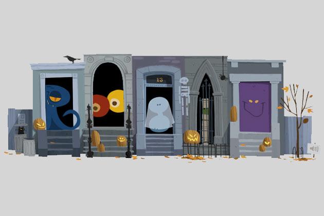 Google festeggia Halloween con doodle interattivo