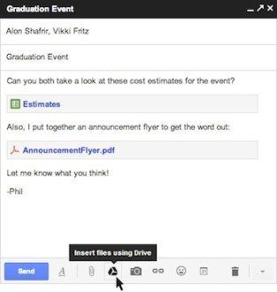 Gmail consente l'invio di allegati da 10GB