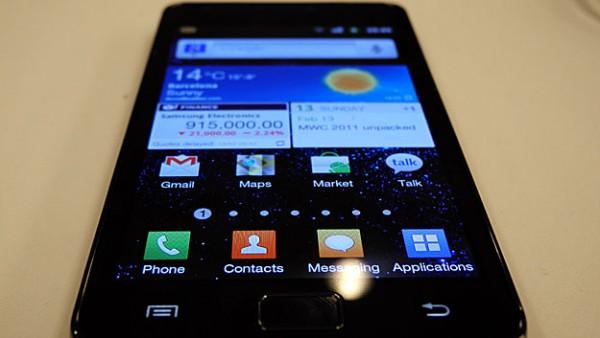 Aggiornamento Android 4.1.2 per Galaxy S II