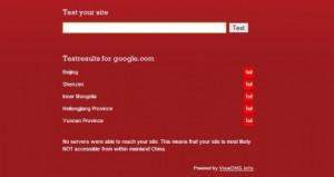 Google bloccato dalla Cina