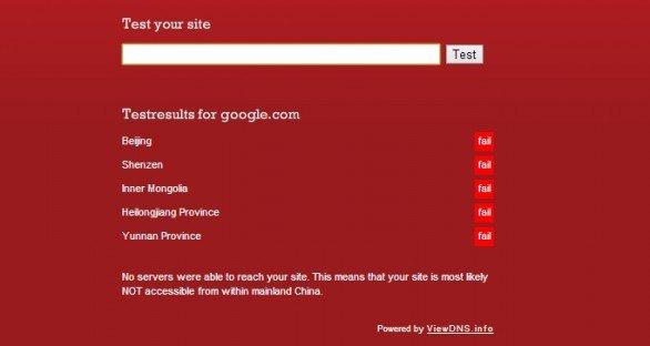 Servizi Google ripristinati dopo la censura cinese