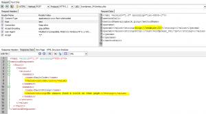 Wordpress Pingback Vulnerability - Valid Request