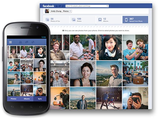 Facebook annuncia l'arrivo di Photo Sync