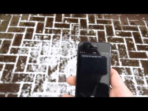 Siri e Raspberry Pi: aprire il garage con i comandi vocali!
