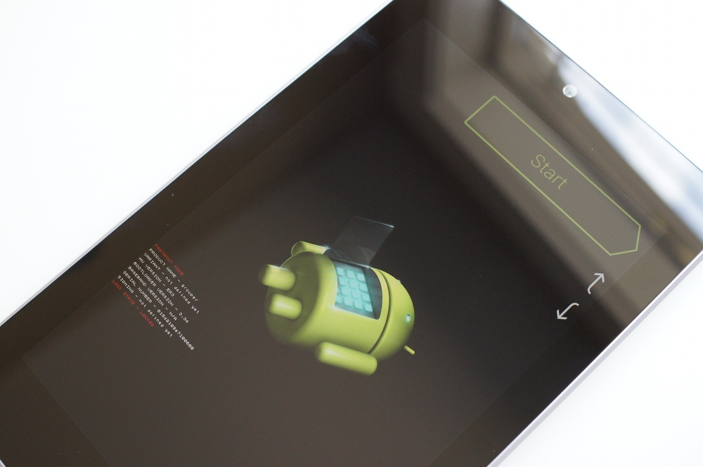 Nexus 7 FastBoot Mode
