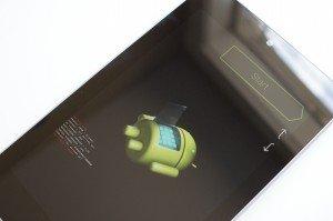 Nexus 7 FastBoot Mode