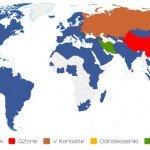 Mappa dei social network più diffusi nel 2012 - Vincenzo Cosenza