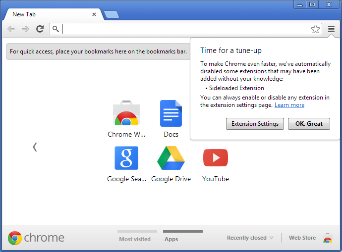 Estensioni silenti per Google Chrome