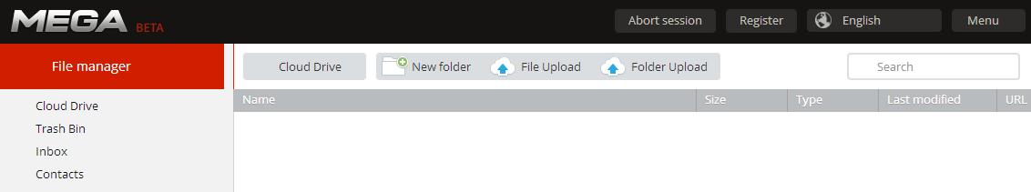 mega-file-manager