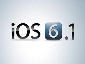 Cupertino lanciato il nuovo aggiornamento iOS 6.1
