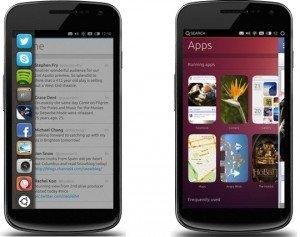 Ubuntu Os per smartphone