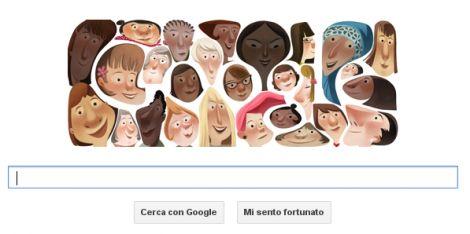 Doodle festa della donna 2013