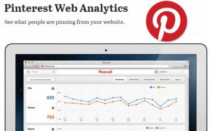 Pinterest Web Analytics Tool