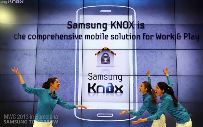 Smartphone personale o telefono aziendale: Samsung Knox!