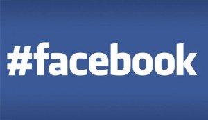 Facebook introduce gli hashtag