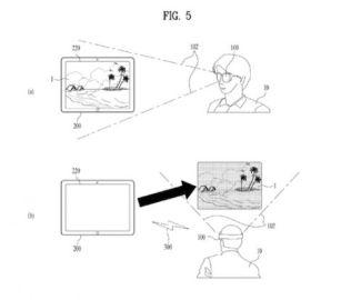 Alternativa LG ai Google Glass: nuovo brevetto Head Mounted Display