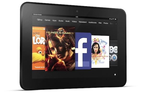 Ecco il tablet Kindle Fire 8.9 di Amazon