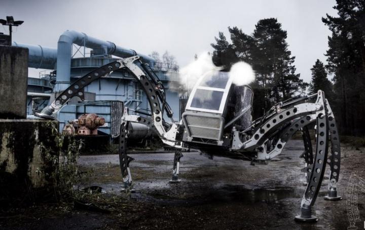 Mantis Hexapod: il robot comandato da Linux