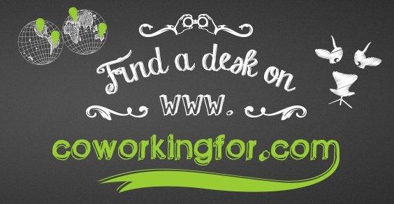 Coworkingfor: il primo motore di ricerca dedicato al coworking.