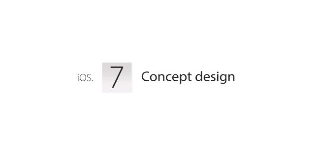 Apple iOs 7: alcuni concept video del futuro flat design