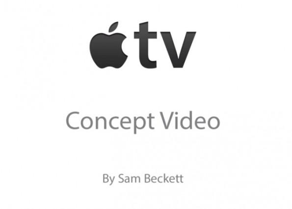 Nuovi concept per la TV di Apple