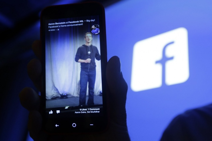 Facebook Smartphone HTC FIrst