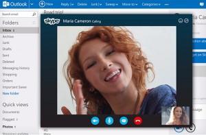 Integrazione completa tra Outlook.com e Skype