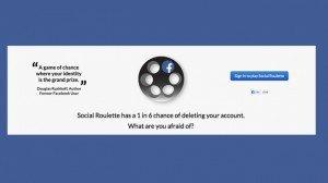 Facebook chiude l'app Social Roulette