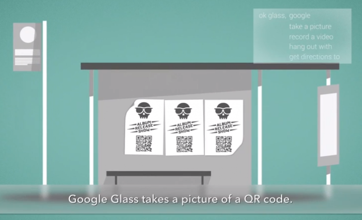 Sicurezza Google Glass QR Code Malevolo