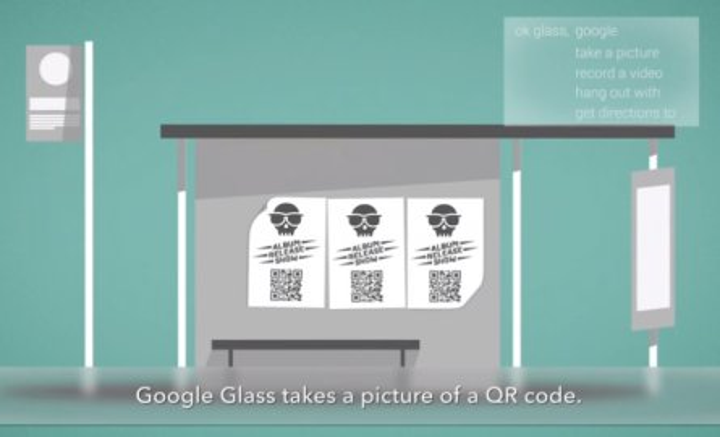 Sicurezza Google Glass QR Code Malevolo