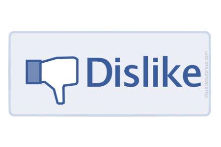 Facebook: in arrivo il tasto Non mi piace?