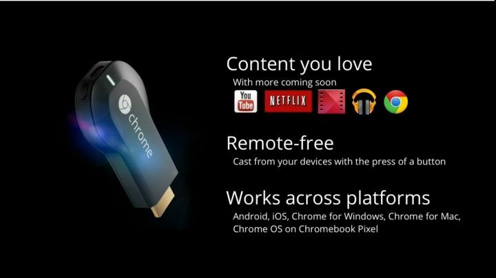 Chromecast, Tv come monitor dello smartphone