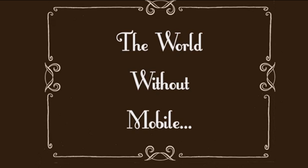 Come sarebbe il mondo senza smartphone?